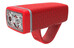 Knog POP ii - Éclairage avant - 1 LED blanche standard rouge
